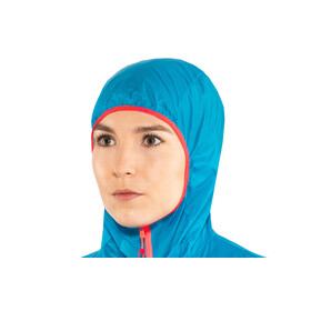 Dynafit Vert Wind 72 - Chaqueta Running Mujer - azul/negro